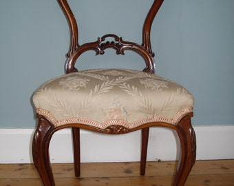 Antique Balloon Back Chair