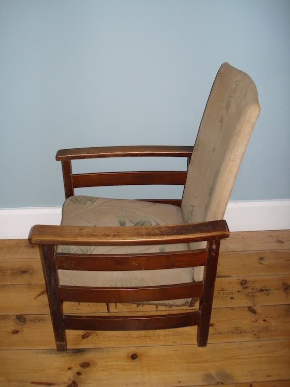 Vintage 1930 S Recliner Armchair Uk Delivery Only Shipping Costs Postcode Dependent