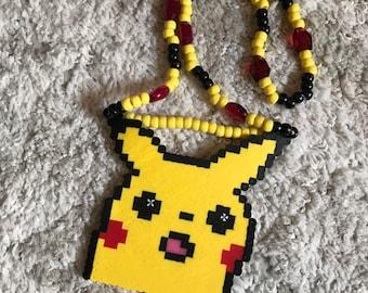 Pikachu perler | Etsy