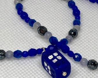 Timey Wimey TARDIS Necklace