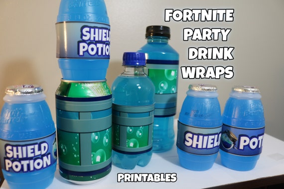 Fortnite Birthday Party Shield Potion And Chug Jug
