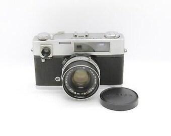 Konica auto s 35mm film rangefinder camera (k0730) k1515