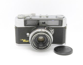 Olympus auto eye film camera with d.zuiko 45mm f2.8 lens from japan k1504
