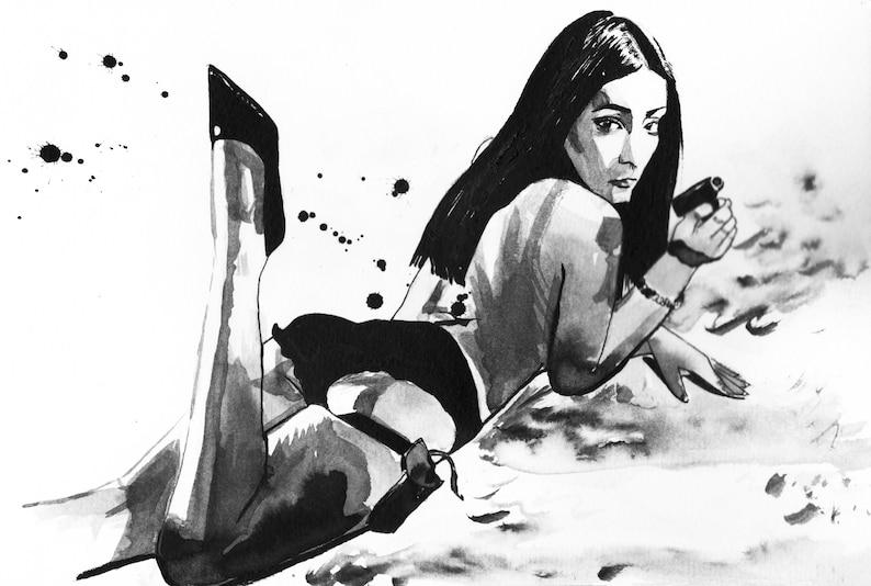 8c548c0ed Seijun Suzuki s Branded To Kill Japanese Film Noir Femme