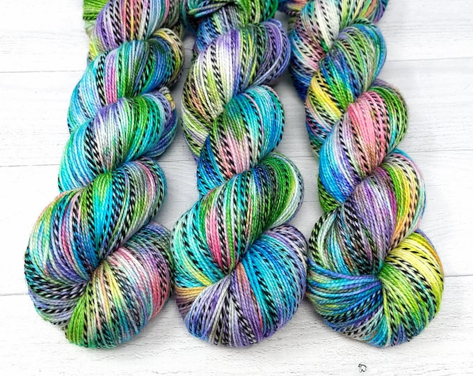 'Day at the Beach' sock yarn, A Summer by the Lake Collection yarn