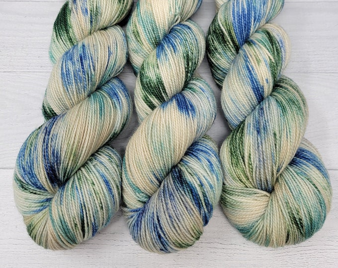 'The Lake is Calling..' sock yarn, A Summer by the Lake Collection yarn