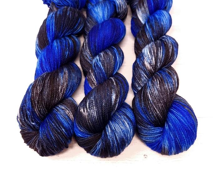'Indigo Bunting' sock yarn