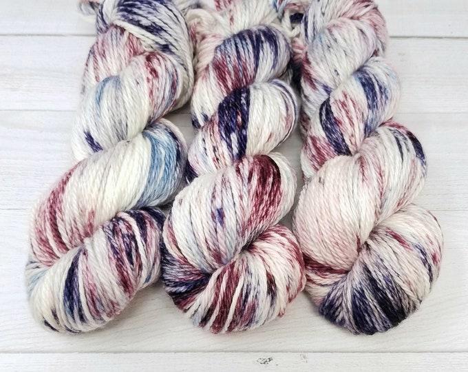 'Winter Evening' worsted yarn