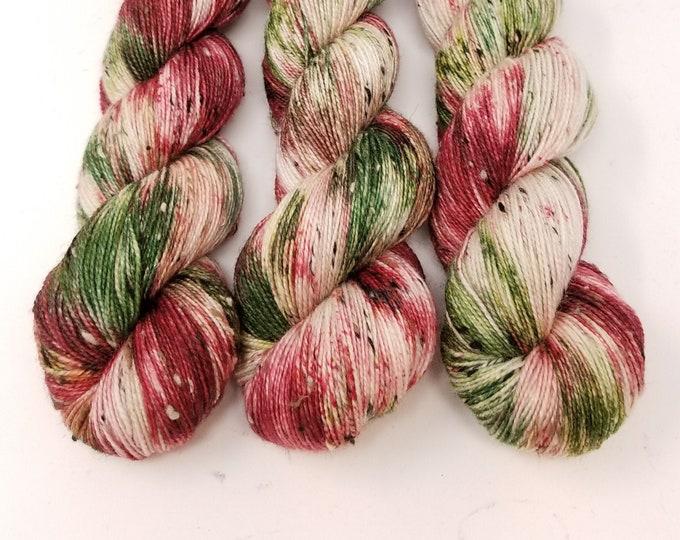 'Holly and Ivy Tweed' sock yarn
