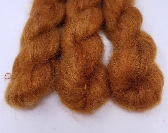 'Caramel Cloud' lace weight yarn