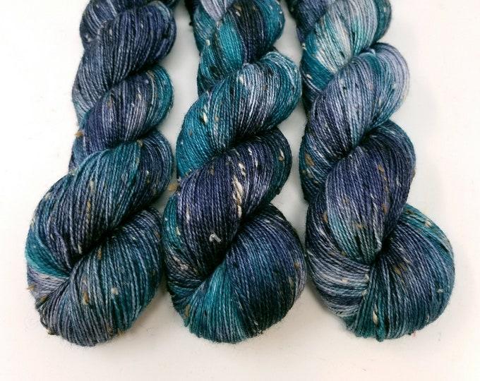 Northern Lights Tweed' sock yarn
