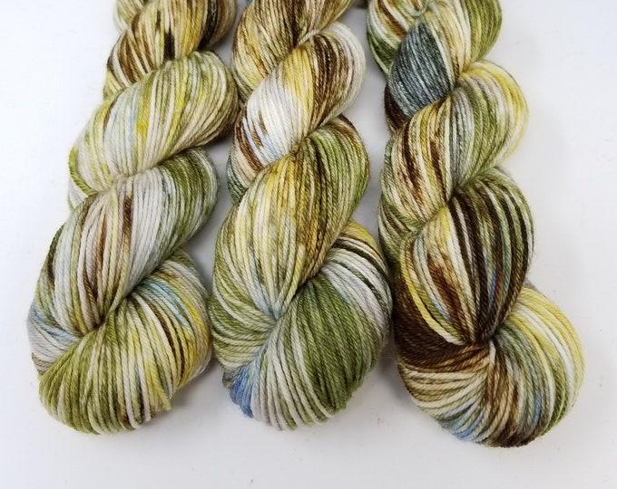 'Cattails' DK yarn