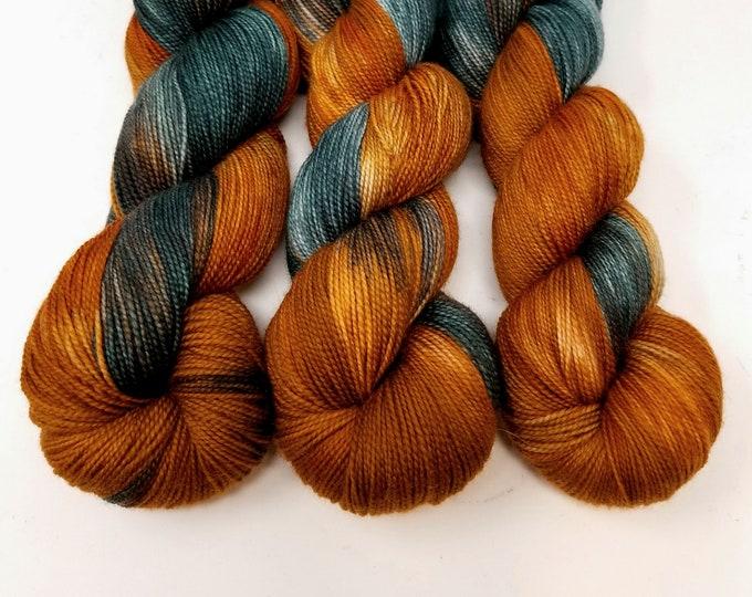 'Log Cabin' sock yarn