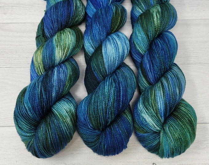'Paddle my Canoe' sock yarn, A Summer by the Lake Collection yarn