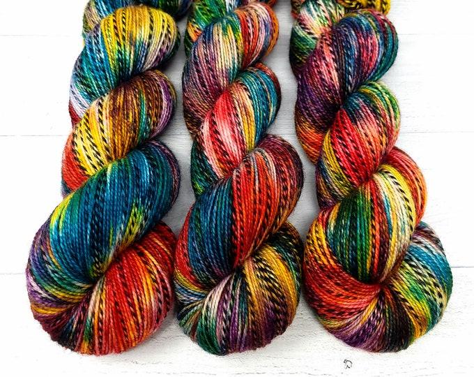 'Fiesta twist' sock yarn