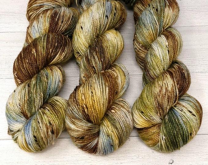 'Cattails' Tweed Sock yarn