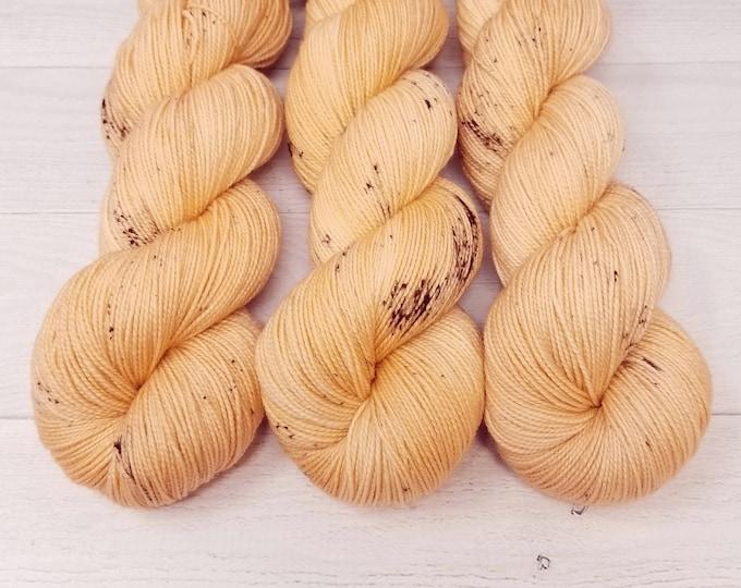 'Georgia Peach' sock yarn