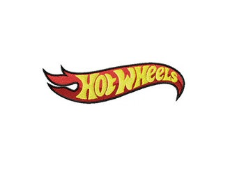 41d88a9b8a9525 Hot Wheels logo embroidery design / embroidery designs / INSTANT download  machine embroidery pattern