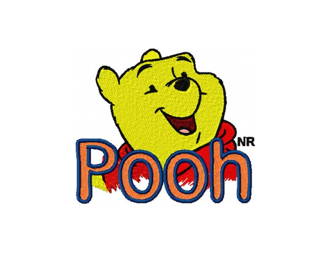 Winnie The Pooh Embroidery Design Embroidery Designs Etsy