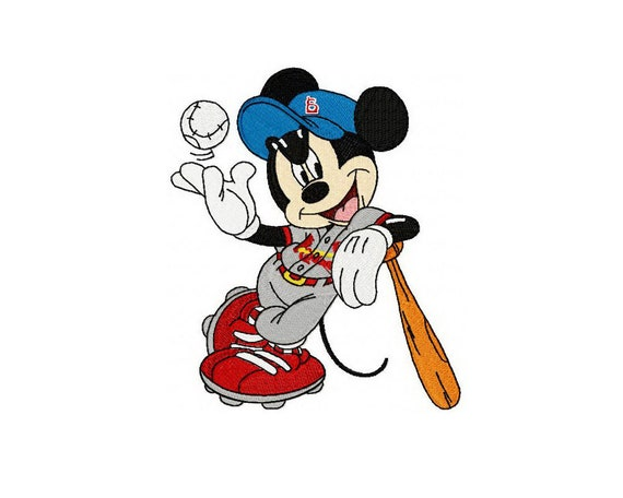 Mickey Mouse Embroidery Design Embroidery Designs Instant Etsy