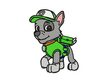 Rocky embroidery design / embroidery designs / INSTANT download machine embroidery pattern