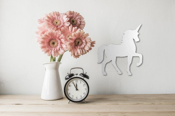 Unicorn Mirror, Shatterproof Acrylic Mirror, Girl\'s Bedroom Mirror, Fun  Unicorn Gift