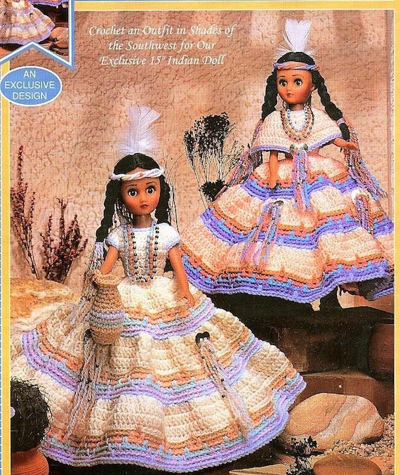 Native Crochet Dress