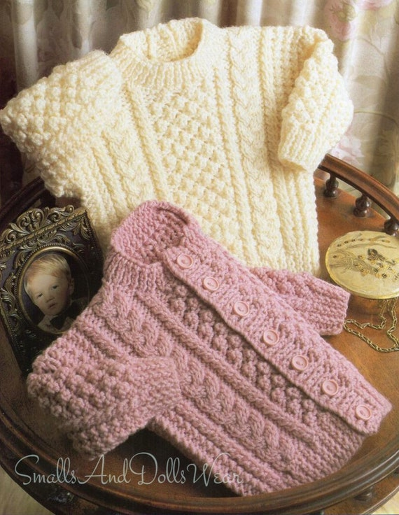 COPY  Afghan knitting pattern THROW ARAN bulky or 12ply