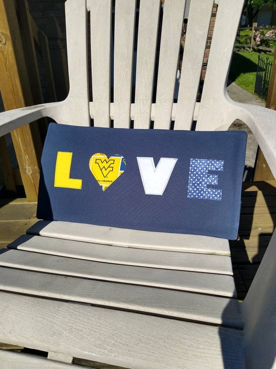 Fantastic West Virginia University Pillows Creativecarmelina Interior Chair Design Creativecarmelinacom