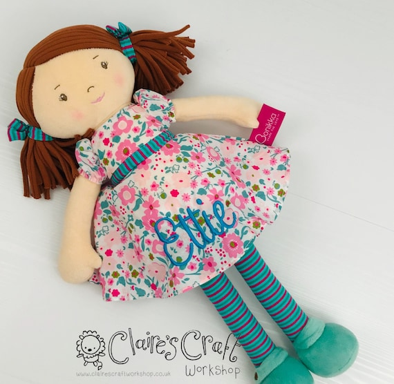 480 Design Soft Rag Doll Pattern with Clothes Mail Order