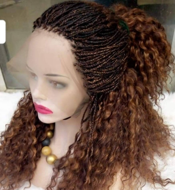 full lace box braid wig