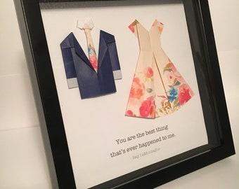 Wedding Gift Shadow Box - Customizable
