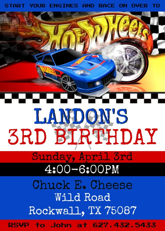 photograph about Hot Wheels Printable identified as Very hot Wheels printable invitation. Warm wheels birthday social gathering. Warm wheels. Electronic invite. Completed inside fewer than 24several hours.