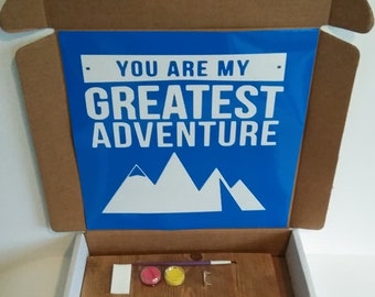 You Are My Greatest Adventure Kreative Kit Wooden House Kraft