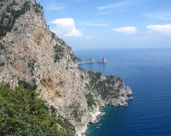 Capri Faragliano Cliffs