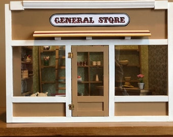 The General Store Dollhouse. NOT A KIT!