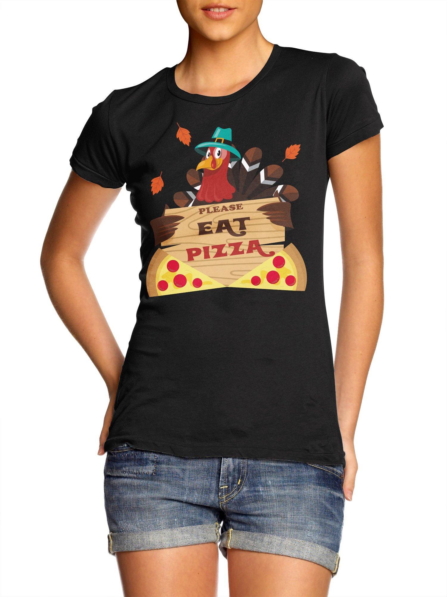 Turquie Turquie Chemise Grâces Manger Chemise De Pizza Action wv7aq4a