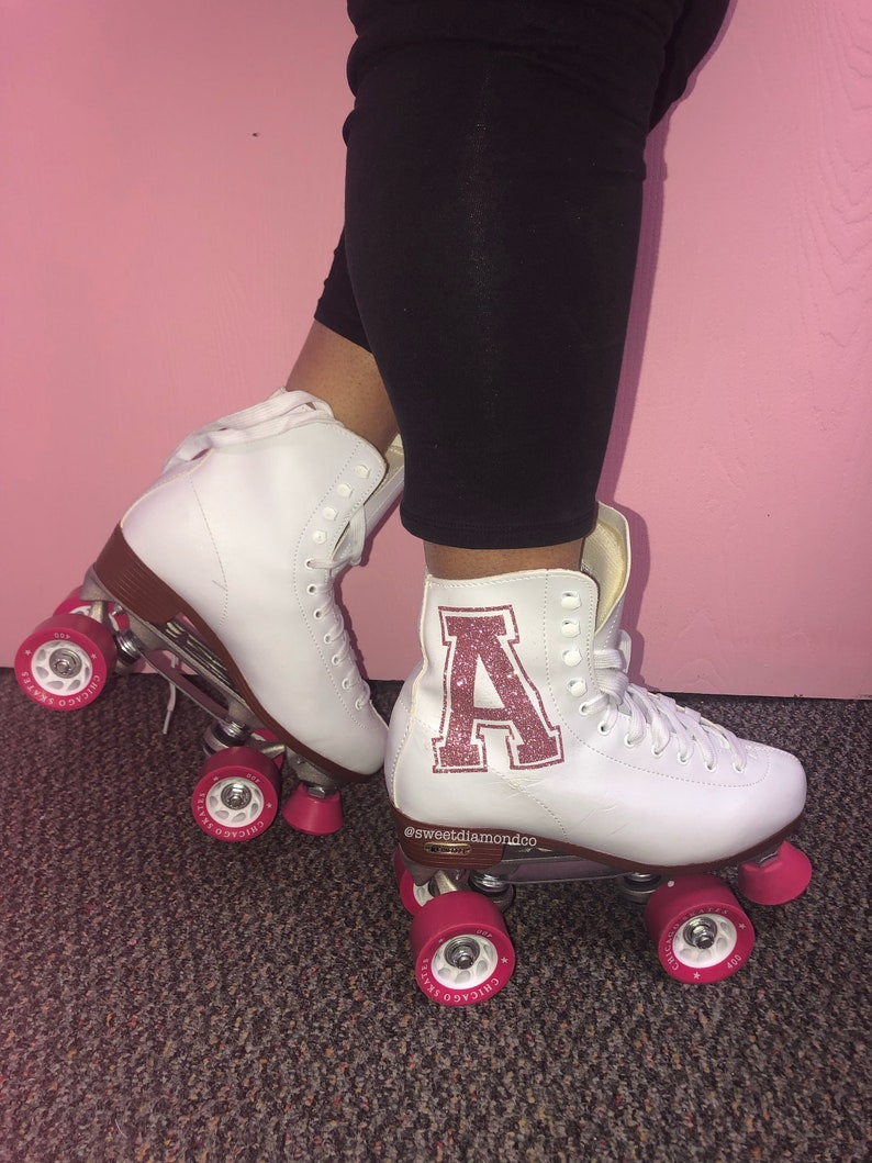 Custom Bling Roller Skates