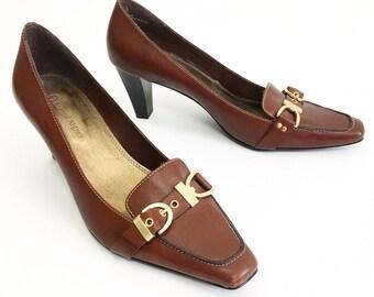 b9a35e309aa3 Etienne Aigner Vintage 70s Heels