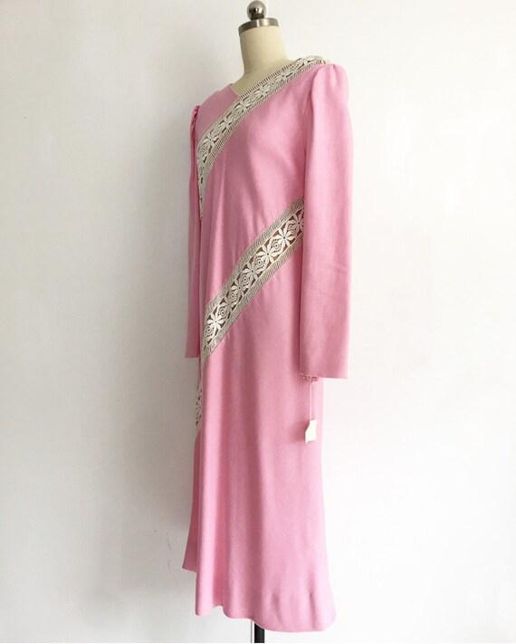 Collectors Piece! Vintage Original Travilla Pink … - image 6