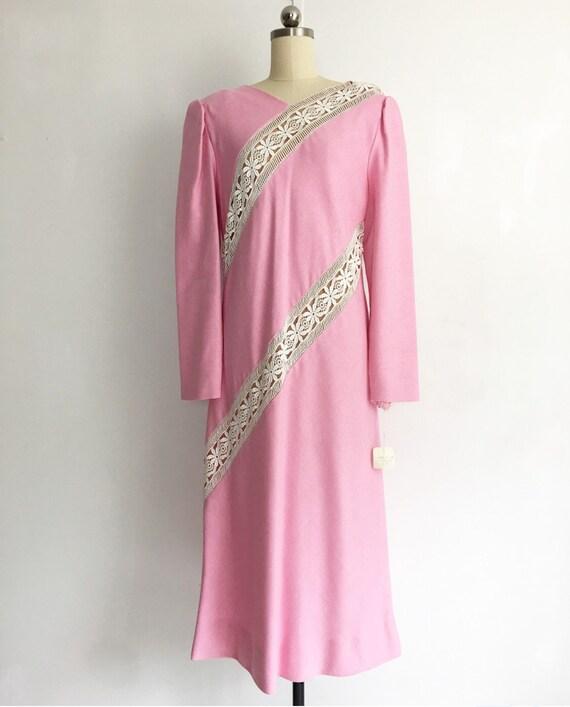 Collectors Piece! Vintage Original Travilla Pink … - image 7