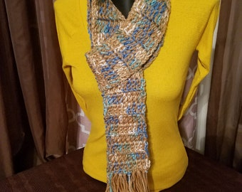 Handcrafted Crochet Scarf
