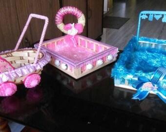 Baby Shower Gift Basket Etsy