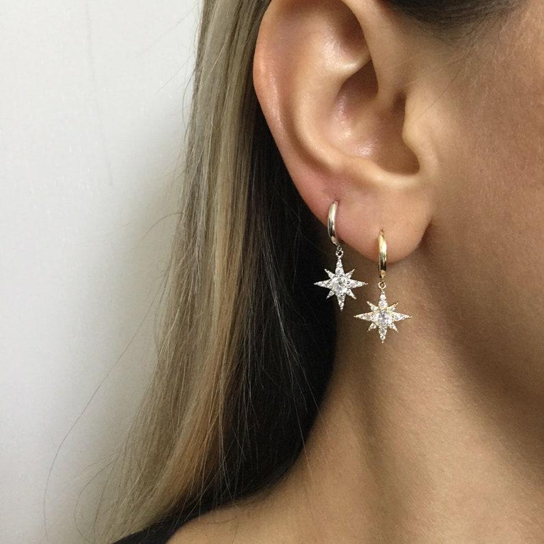 c67aa3d59bbc Sterling Silver hoop earrings Hoops earrings small hoops | Etsy