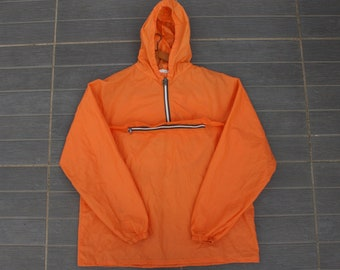 305ebd4eb9a43 Imperméable K-Way Vintage Orange très bon état général made in france  Prestyl KWAY