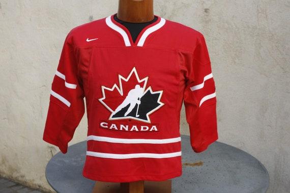 Maillot Hockey Canada Nike taille enfant SM très bon état général Jersey national team