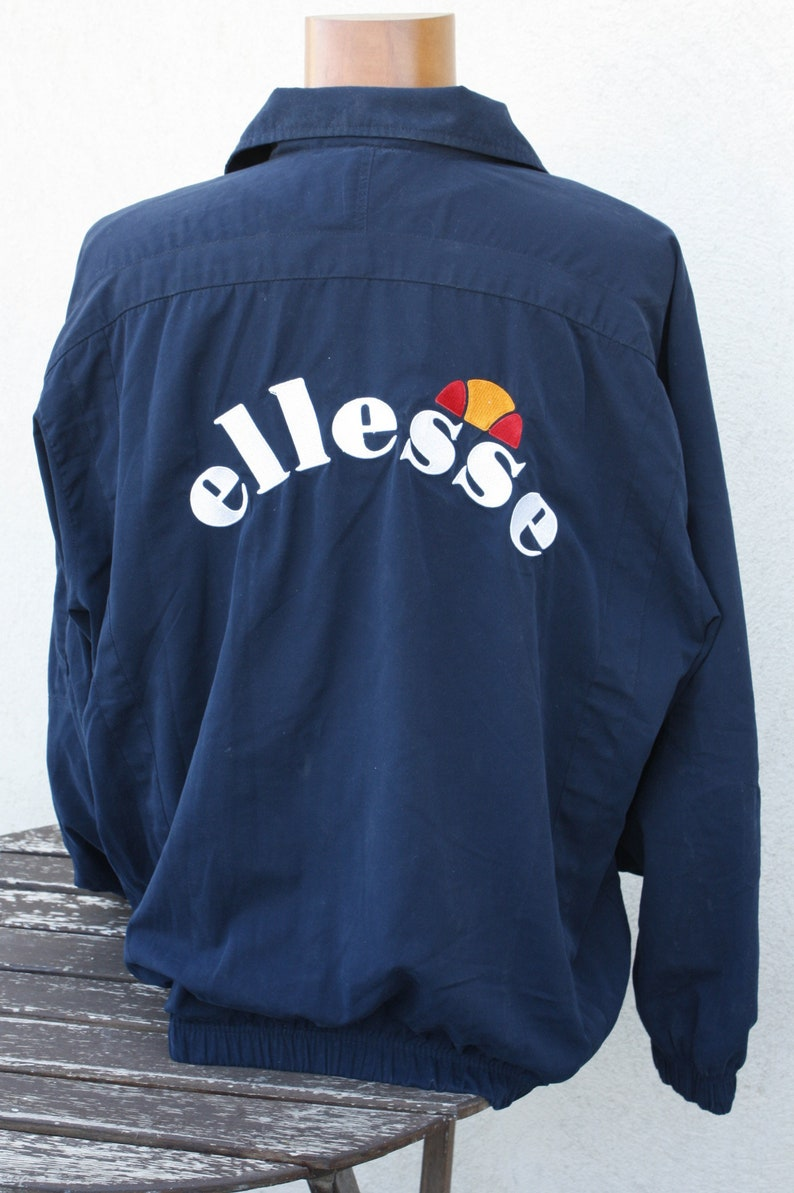 Top of outerwear Ellesse jacket size 52 vintage = Large 80/'s excellent condition