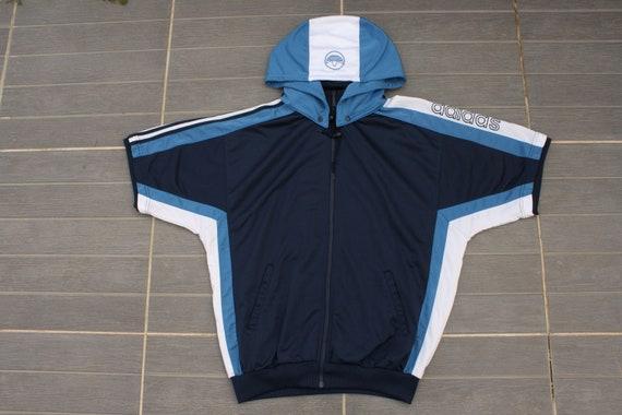 Veste de Survêtement Adidas manches courts Vintage taille 186 cm Large excellent état