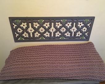 """70""""x70"""" handmade afghan blanket"""
