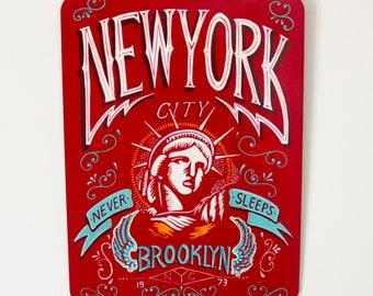 New York City Handlettering